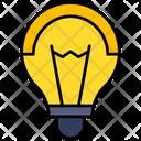 Bulb Concept Idea Icon