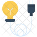 Bulb Electricity Socket Icon