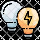 Light Bulbs Bulb Lamp Icon