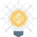 Bulb Business Idea Icon