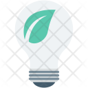 Bulb Eco Illumination Icon