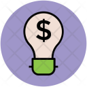 Bulb Business Creative Icon