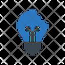 Broken Bulb Light Icon