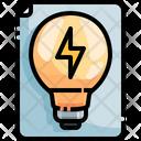 Light Bulbs Bulb Document Light Document Icon
