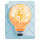 Bulb Document Light Document Light Icon