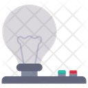 Bulb Light Experiment Icon