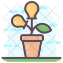 Bulb Plant Idea Development Ideation Icon