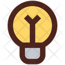 Buld Light Electric Icon