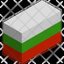 Flag Country Bulgaria Icon