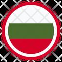 Bulgaria Country National Icon