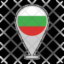 Bulgaria Country Flag Icon