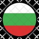 Bulgaria Nation Country Icon