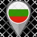 Bulgaria Country Location Location Icon