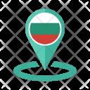 Bulgaria Flag Icon