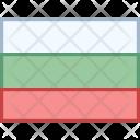 Bulgaria Flag Country Icon