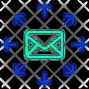 Ibulk Mail Bulk Mail Broadcast Mail Icon