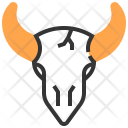 Bull Feather Animal Icon