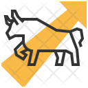 Bull Trend Logo Icon