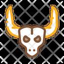 Bull Horns Desert Icon