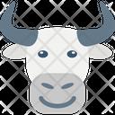 Bull Farm Animal Icon