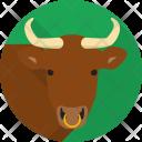 Bull Animals Herbivores Icon