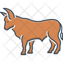 Bull Ox Cattle Icon