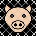 Bull Cow Face Icon