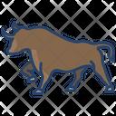 Bull Animal Wildlife Icon