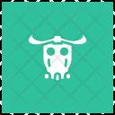 Bull Cow Buffalo Icon