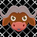 Bull Animal Face Icon
