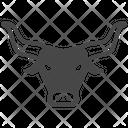 Bull Face Bull Cattle Icon