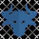 Bull Face Icon