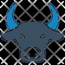 Banking Bull Market Finance Icon