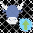 Bull Market Bull Exchange Icon