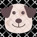 Dog Bulldog Airedale Icon