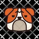 Bulldog Dog Puppy Icon