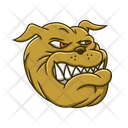 Bulldog Dog Pet Icon