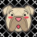 Bulldog Dog Hushed Icon