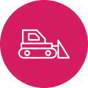 Bulldozer Machinery Machine Icon