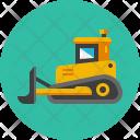Bulldozer Heavy Vehicle Icon