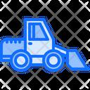 Bulldozer Car Building Icon