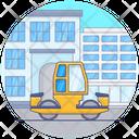 Bulldozer Industrial Bulldozer Machine Construction Vehicle Icon