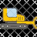 Bulldozer Construction Vehicle Vehicle Icon