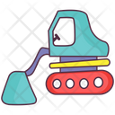 Bulldozer Icon