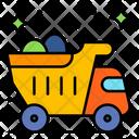 Bulldozer Dumper Loader Icon