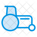 Bulldozer Tractor Excavator Icon