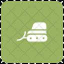 Bulldozer Crane Lifter Icon