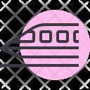 Bullet Train Speed Icon