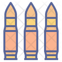 Bullets Ammunition War Icon