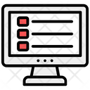 Bullet Points List Icon